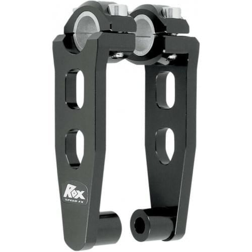 "Проставка руля квадроцикла /снегохода черная 12,7см ROX 5"" Pivoting Bar Risers for 7/8"" OR 1 1/8 0602-0442 /44-83490B1 /R-P5SEK"