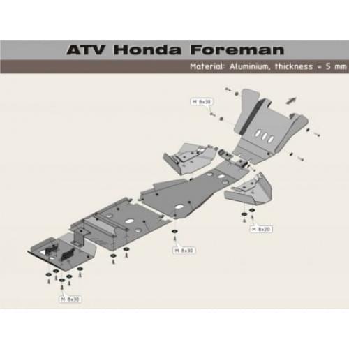 Полный комплект защиты Foreman TRX500