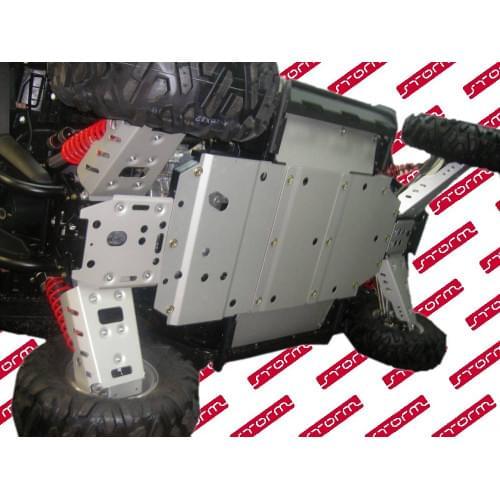 Комплект защиты днища для POLARIS RZR/RZR-S 800